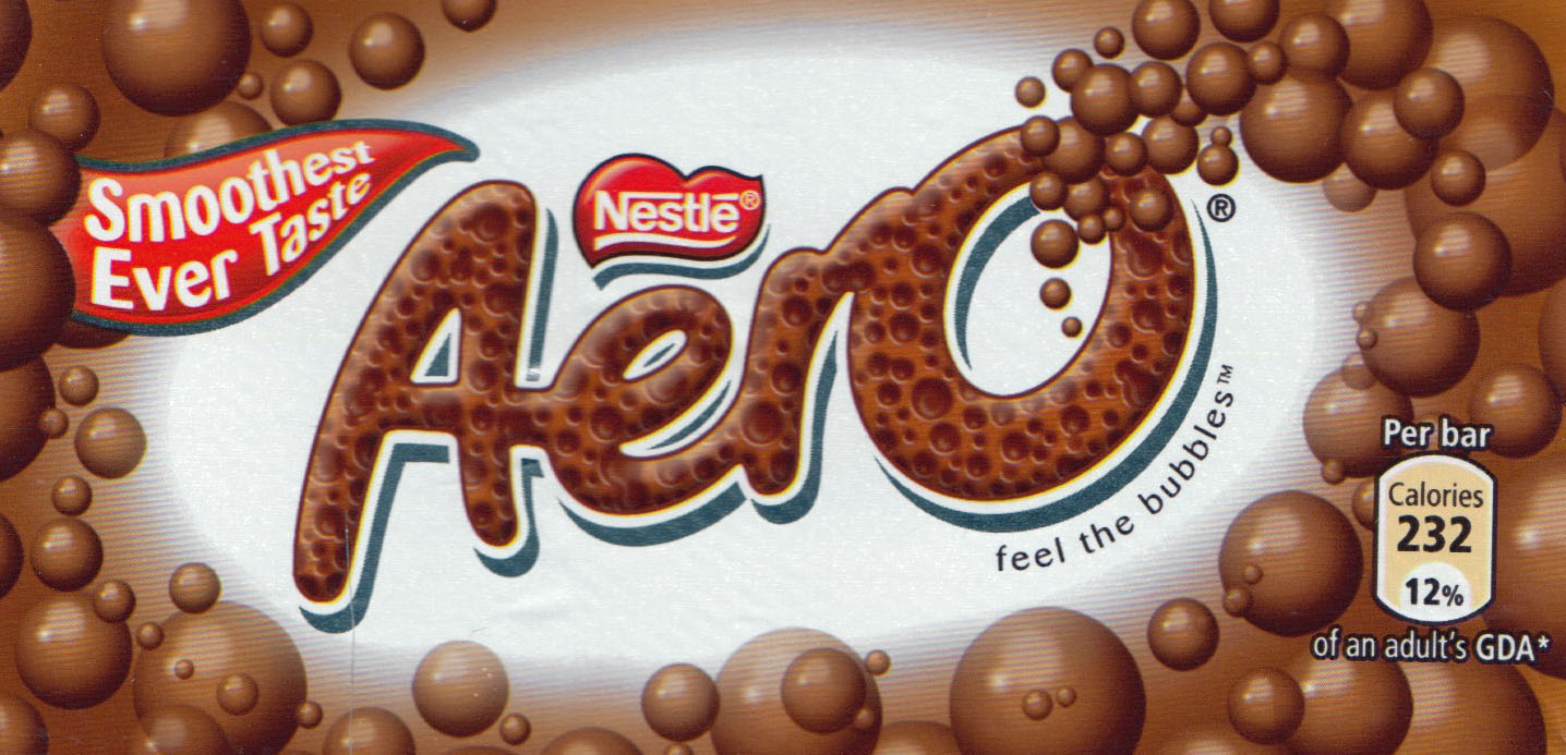 aero bar chocolate i have known