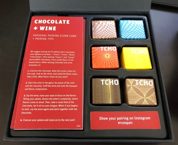 Tcho Chocolate + Wine Pairing Party-In-A-Box   Chocolate I